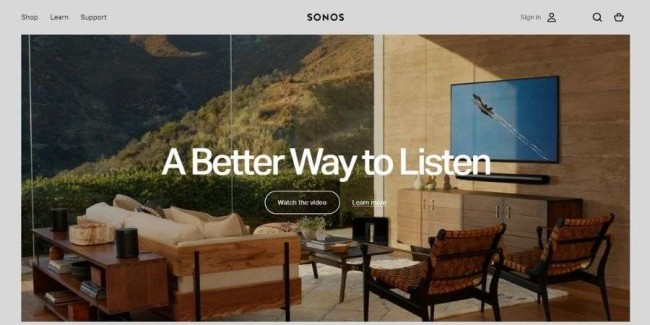 best tech websites: Sonos