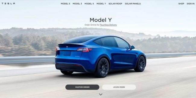 best tech websites: Tesla