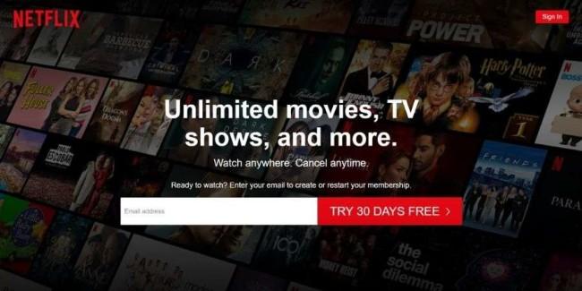 best tech websites: Netflix