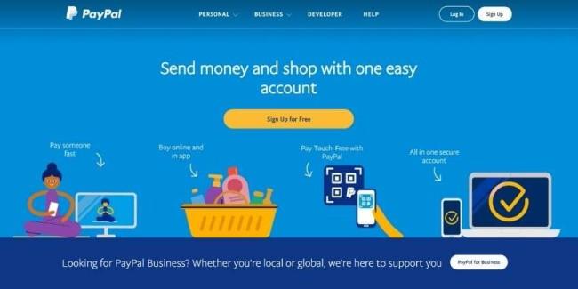 best tech websites: PayPal