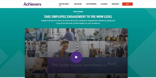 Achievers website