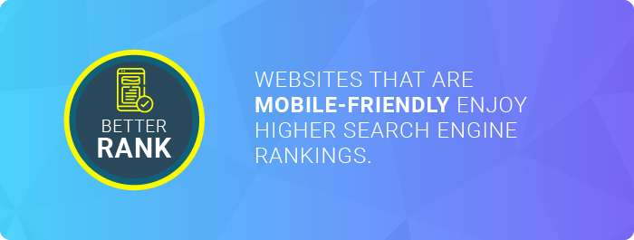 Responsive web design companies: websites that are mobile friendly enjoy higher search engine rankings