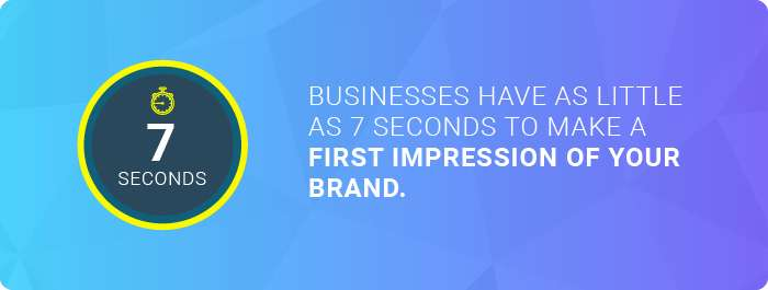Top web design companies: the time in which consumers form first impressions