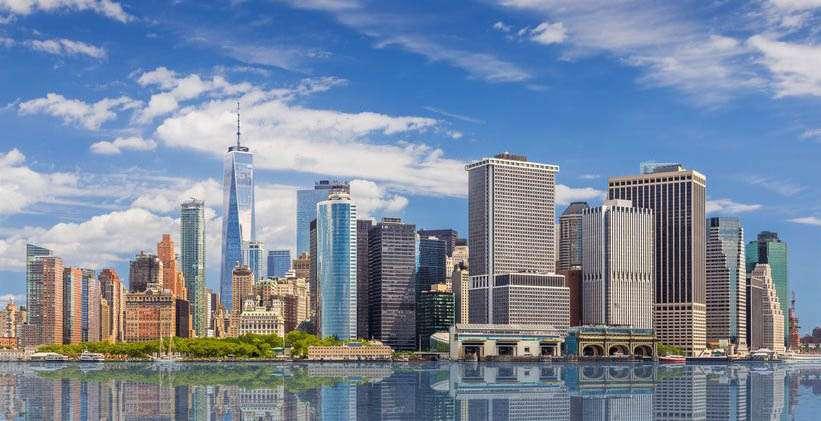 New York eCommerce development companies: view of downtown New York