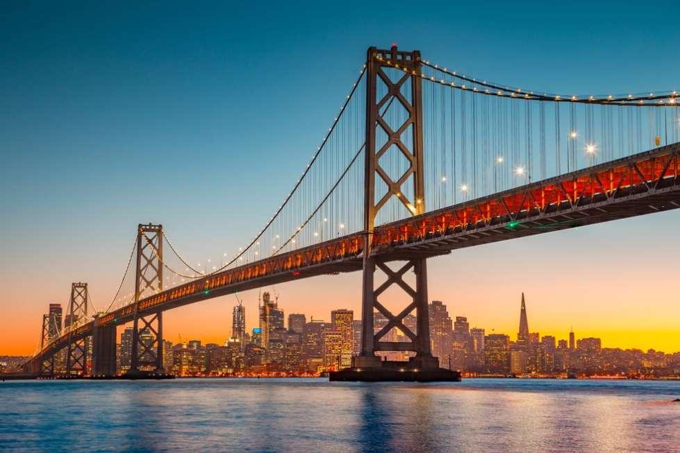 California ecommerce development companies: Oakland Bay Bridge in California