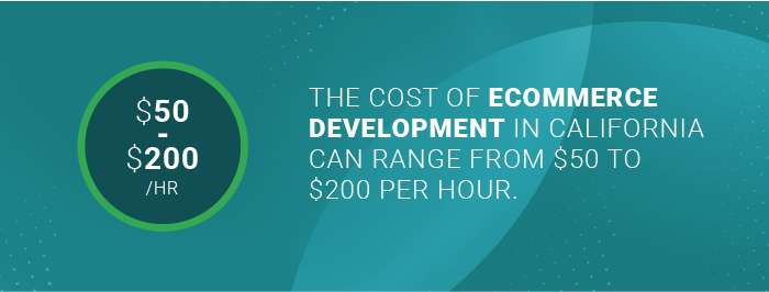 California ecommerce development: the cost of ecommerce development in California