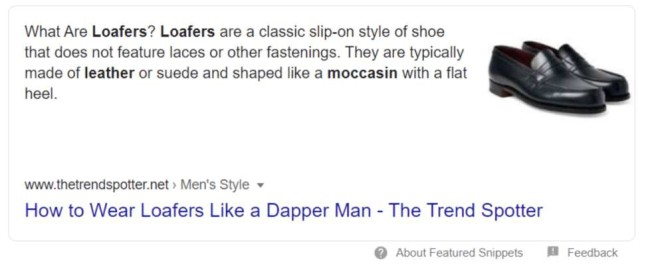 eCommerce rich snippets