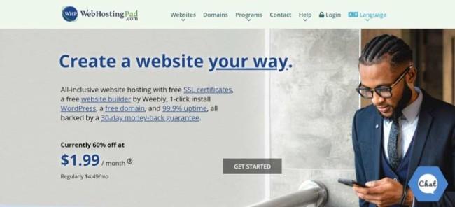 WebHostingPad as one of the best hosting providers