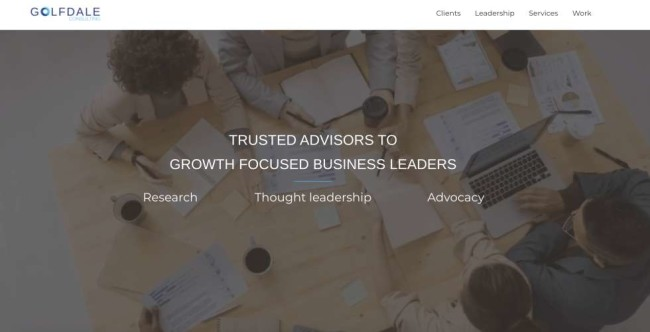 Business solutions companies: Golfdale